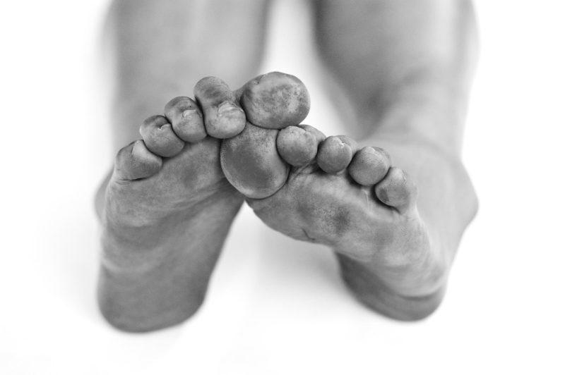 self-portrait, feet